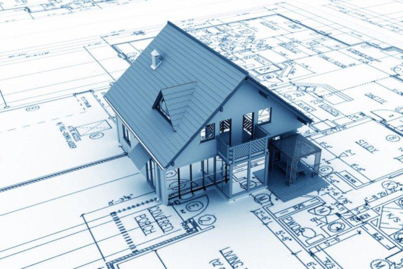 Bouwtekening woonhuis